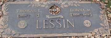 LESSIN, DONNA M. - Minnehaha County, South Dakota | DONNA M. LESSIN - South Dakota Gravestone Photos