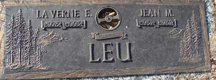 LEU, LA VERNE E. - Minnehaha County, South Dakota   LA VERNE E. LEU - South Dakota Gravestone Photos