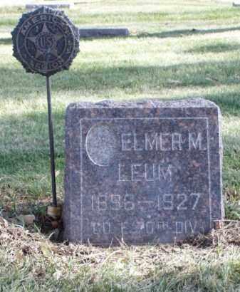 LEUM, CARL M. - Minnehaha County, South Dakota   CARL M. LEUM - South Dakota Gravestone Photos