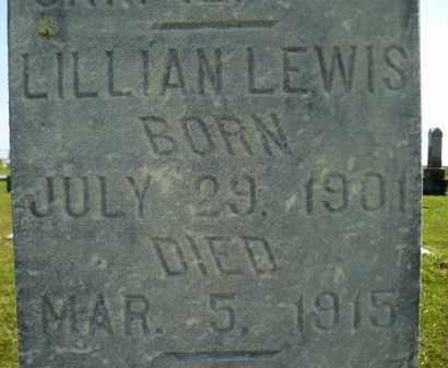LEWIS, LILLIAN - Minnehaha County, South Dakota | LILLIAN LEWIS - South Dakota Gravestone Photos