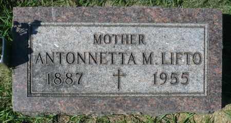 LIFTO, ANTONNETTA M. - Minnehaha County, South Dakota | ANTONNETTA M. LIFTO - South Dakota Gravestone Photos