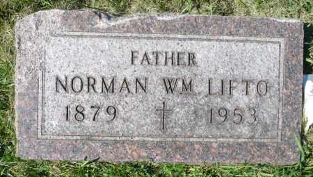 LIFTO, NORMAN WILLIAM - Minnehaha County, South Dakota | NORMAN WILLIAM LIFTO - South Dakota Gravestone Photos