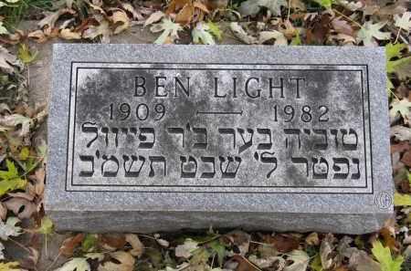 LIGHT, BEN - Minnehaha County, South Dakota | BEN LIGHT - South Dakota Gravestone Photos