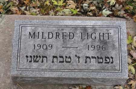 LIGHT, MILDRED - Minnehaha County, South Dakota | MILDRED LIGHT - South Dakota Gravestone Photos
