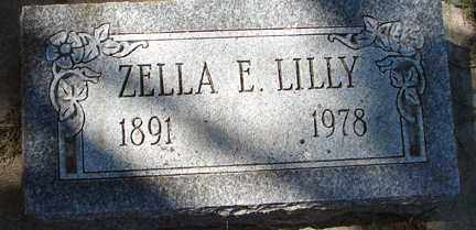 LILLY, ZELLA E. - Minnehaha County, South Dakota | ZELLA E. LILLY - South Dakota Gravestone Photos