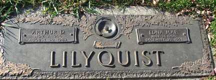 LILYQUIST, EDNA MARIE - Minnehaha County, South Dakota   EDNA MARIE LILYQUIST - South Dakota Gravestone Photos