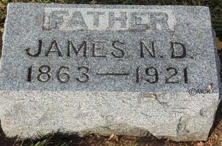LIMEWOOD, JAMES N.D. - Minnehaha County, South Dakota | JAMES N.D. LIMEWOOD - South Dakota Gravestone Photos