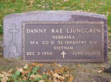 LJUNGGREN, DANNY RAE - Minnehaha County, South Dakota | DANNY RAE LJUNGGREN - South Dakota Gravestone Photos
