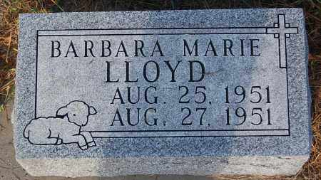 LLOYD, BARBARA MARIE - Minnehaha County, South Dakota | BARBARA MARIE LLOYD - South Dakota Gravestone Photos