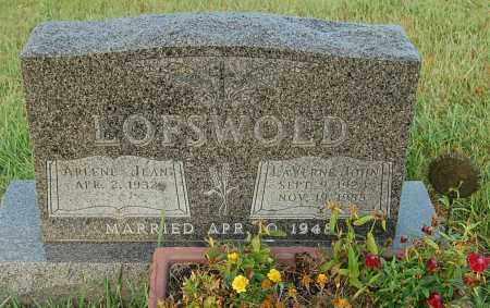 LOFSWOLD, ARLENE JEAN - Minnehaha County, South Dakota | ARLENE JEAN LOFSWOLD - South Dakota Gravestone Photos