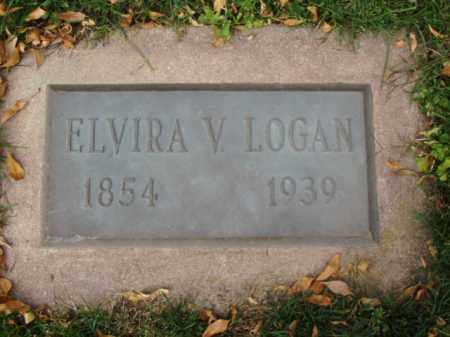 LOGAN, ELVIRA V. - Minnehaha County, South Dakota | ELVIRA V. LOGAN - South Dakota Gravestone Photos