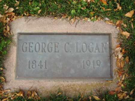 LOGAN, GEORGE C. - Minnehaha County, South Dakota | GEORGE C. LOGAN - South Dakota Gravestone Photos