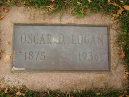 LOGAN, OSCAR D. - Minnehaha County, South Dakota | OSCAR D. LOGAN - South Dakota Gravestone Photos