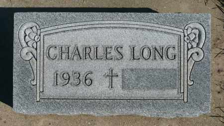 LONG, CHARLES - Minnehaha County, South Dakota | CHARLES LONG - South Dakota Gravestone Photos