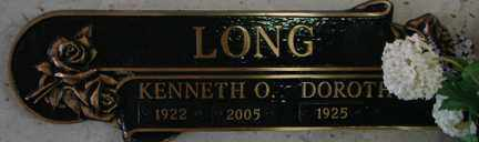 LONG, DOROTHY - Minnehaha County, South Dakota | DOROTHY LONG - South Dakota Gravestone Photos