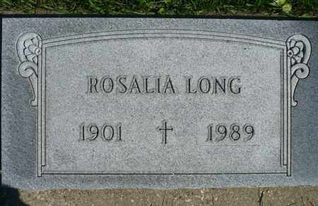 LONG, ROSALIA - Minnehaha County, South Dakota | ROSALIA LONG - South Dakota Gravestone Photos