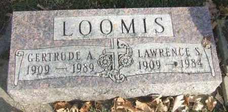LOOMIS, GERTRUDE A. - Minnehaha County, South Dakota | GERTRUDE A. LOOMIS - South Dakota Gravestone Photos