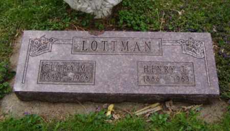 LOTTMAN, CLARA M. - Minnehaha County, South Dakota | CLARA M. LOTTMAN - South Dakota Gravestone Photos