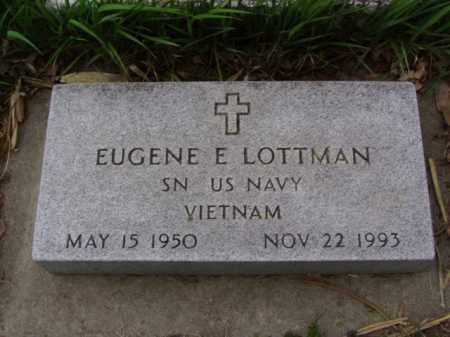 LOTTMAN, EUGENE EARL - Minnehaha County, South Dakota | EUGENE EARL LOTTMAN - South Dakota Gravestone Photos