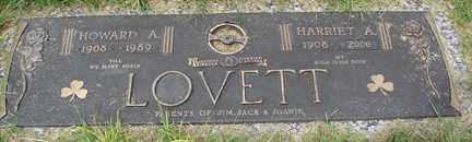 LOVETT, HARRIET A. - Minnehaha County, South Dakota | HARRIET A. LOVETT - South Dakota Gravestone Photos