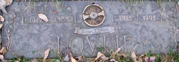 LOVLIE, MAURICE ORVILLE - Minnehaha County, South Dakota   MAURICE ORVILLE LOVLIE - South Dakota Gravestone Photos