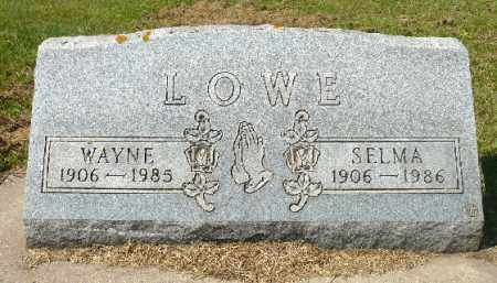 LOWE, WAYNE - Minnehaha County, South Dakota | WAYNE LOWE - South Dakota Gravestone Photos