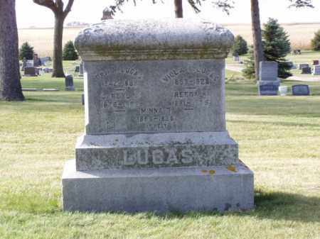 LUCAS, VIOLA ANNETTA - Minnehaha County, South Dakota | VIOLA ANNETTA LUCAS - South Dakota Gravestone Photos
