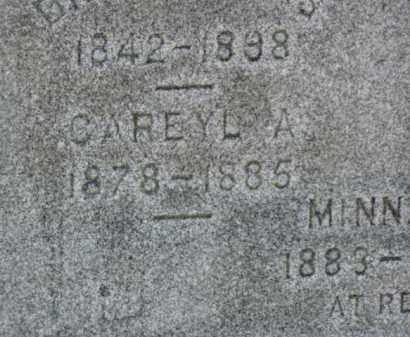 LUCAS, CAREYL A. - Minnehaha County, South Dakota   CAREYL A. LUCAS - South Dakota Gravestone Photos