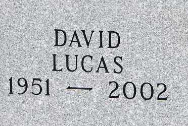 LUCAS, DAVID - Minnehaha County, South Dakota | DAVID LUCAS - South Dakota Gravestone Photos