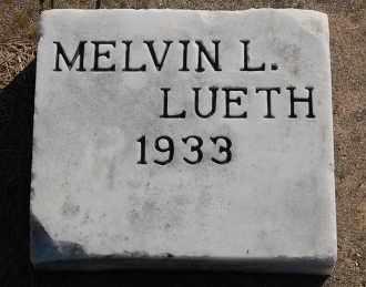 LUETH, MELVIN L. - Minnehaha County, South Dakota | MELVIN L. LUETH - South Dakota Gravestone Photos