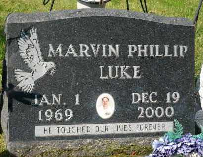 LUKE, MARVIN PHILLIP - Minnehaha County, South Dakota | MARVIN PHILLIP LUKE - South Dakota Gravestone Photos