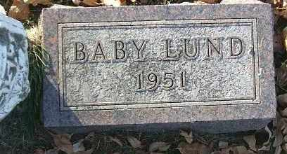 LUND, BABY - Minnehaha County, South Dakota | BABY LUND - South Dakota Gravestone Photos