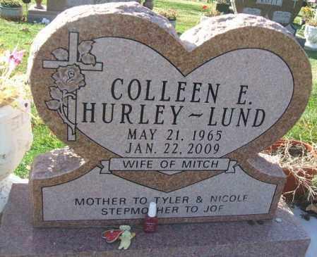 HURLEY LUND, COLLEEN ELIZABETH - Minnehaha County, South Dakota   COLLEEN ELIZABETH HURLEY LUND - South Dakota Gravestone Photos