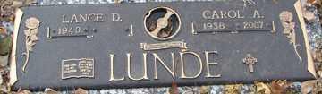 LUNDE, CAROL ANN - Minnehaha County, South Dakota | CAROL ANN LUNDE - South Dakota Gravestone Photos