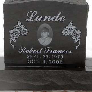 LUNDE, ROBERT FRANCES - Minnehaha County, South Dakota | ROBERT FRANCES LUNDE - South Dakota Gravestone Photos
