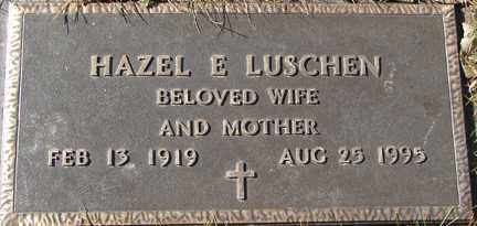 LUSCHEN, HAZEL E. - Minnehaha County, South Dakota | HAZEL E. LUSCHEN - South Dakota Gravestone Photos
