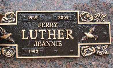 ERICKSEN LUTHER, JEANNIE - Minnehaha County, South Dakota | JEANNIE ERICKSEN LUTHER - South Dakota Gravestone Photos