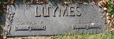 ALLEN LUYMES, CECILE G. - Minnehaha County, South Dakota | CECILE G. ALLEN LUYMES - South Dakota Gravestone Photos
