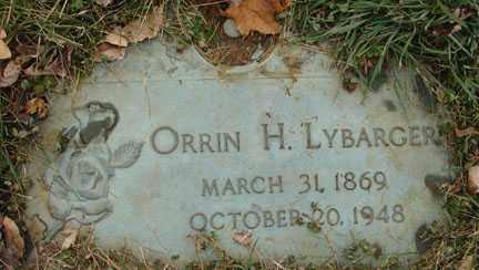 LYBARGER, ORRIN H. - Minnehaha County, South Dakota | ORRIN H. LYBARGER - South Dakota Gravestone Photos
