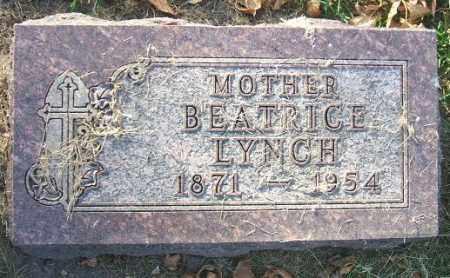 LYNCH, BEATRICE - Minnehaha County, South Dakota   BEATRICE LYNCH - South Dakota Gravestone Photos