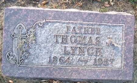 LYNCH, THOMAS - Minnehaha County, South Dakota   THOMAS LYNCH - South Dakota Gravestone Photos