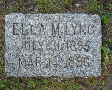 LYNG, ELLA MATILA - Minnehaha County, South Dakota   ELLA MATILA LYNG - South Dakota Gravestone Photos
