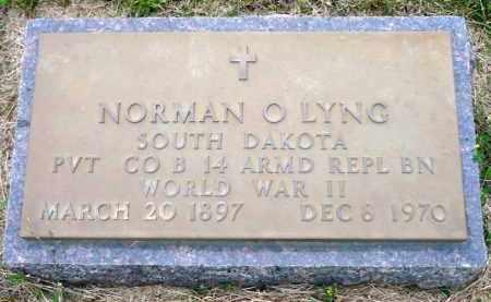 LYNG, NORMAN O. - Minnehaha County, South Dakota | NORMAN O. LYNG - South Dakota Gravestone Photos