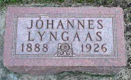 LYNGAAS, JOHANNES - Minnehaha County, South Dakota | JOHANNES LYNGAAS - South Dakota Gravestone Photos