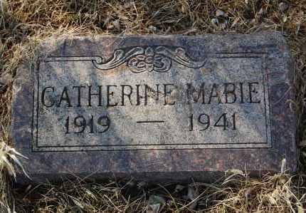 MABIE, CATHERINE - Minnehaha County, South Dakota | CATHERINE MABIE - South Dakota Gravestone Photos