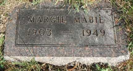 MABIE, MARGIE - Minnehaha County, South Dakota   MARGIE MABIE - South Dakota Gravestone Photos