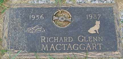 MACTAGGART, RICHARD GLENN - Minnehaha County, South Dakota | RICHARD GLENN MACTAGGART - South Dakota Gravestone Photos