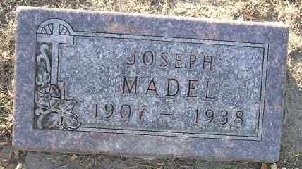 MADEL, JOSEPH - Minnehaha County, South Dakota | JOSEPH MADEL - South Dakota Gravestone Photos