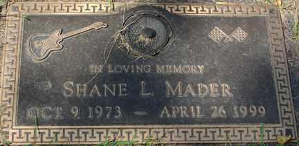 MADER, SHANE L. - Minnehaha County, South Dakota | SHANE L. MADER - South Dakota Gravestone Photos