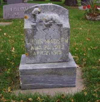 MADSEN, CHRIS - Minnehaha County, South Dakota | CHRIS MADSEN - South Dakota Gravestone Photos